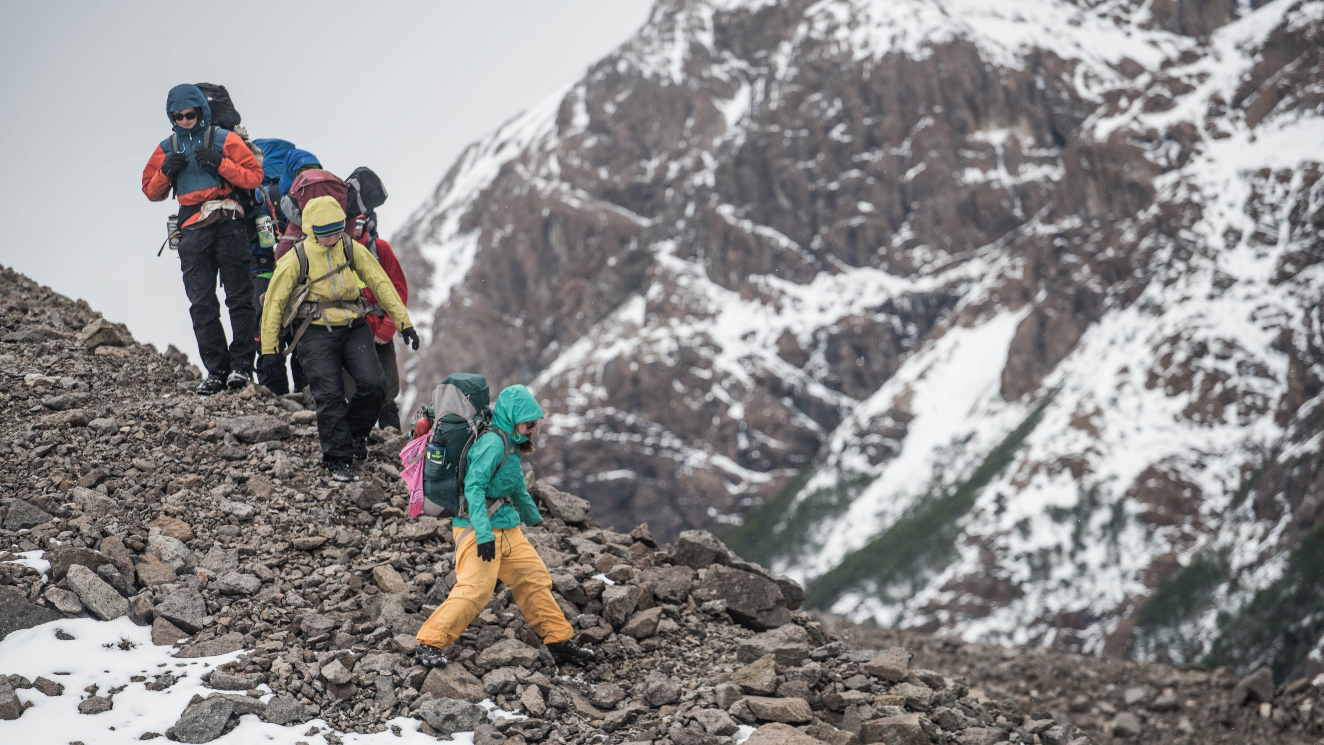 Learn off-trail navigation skills in the rugged wilds of Chilean Patagonia
